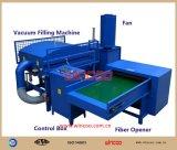 Máquina automática de llenado de fibra de almohada / Fibra abierta y máquina de llenado