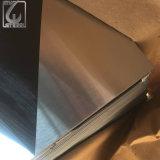 Plaque de dépliement enduite par PVC argentée de l'acier inoxydable 304 de miroir