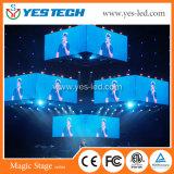 풀 컬러 P6mm는 SMD 옥외 LED 표시를 방수 처리한다