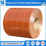 Du grain du bois de la bobine en aluminium peint pour l'aluminium de la plaque de boucle/grille/Honeycomb Board/système de plafond