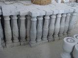 De Witte Marmeren Pijler Opgepoetste Pijlers van Guangxi
