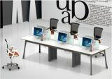 現代様式の優れたスタッフの区分ワークステーション事務机(PM-004)