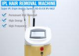 Macchina portatile di rimozione dei capelli del laser del diodo 808nm della strumentazione 600W di bellezza del corpo