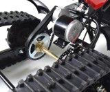 Motor de engrenagens da cadeia de motas de neve com sistema de travões de disco
