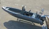 Aqualand 26pies sólidos de 8m guardabarros Sponson de espuma rígida de rescate de los tubos inflables/inspección /Costilla militares en barco a motor (rib800b)