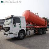 camion-citerne aspirateur de nettoyage d'égout d'aspiration des eaux d'égout 6X4