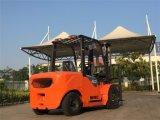 2륜 전차 Elevateur 4t 디젤 엔진 포크리프트 가격