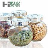 frasco de vidro selado do condimento do frasco do mel do frasco da flor do frasco dos doces do frasco do armazenamento 100ml chá doce de vidro