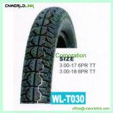 Unterschiedliche Größe, die Motorrad-Reifen Fotorezeptor-6 mit Gefäß anpaßt