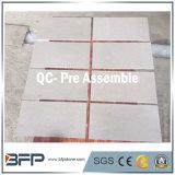 Mattonelle e marmi di pietra naturali grigi per la pavimentazione di superficie Polished