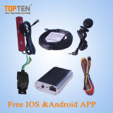 Автомобиль GPS Tracker с пультом дистанционного управления, Acc/остановкой двигателя, Датчик уровня топлива (ТК108-КВТ)