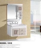 Vanità della stanza da bagno del PVC con lo specchio ed il Governo del lato