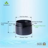 Jarro de plástico cosmético de 120 ml com tampas para condicionador de cabelo