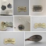 금속 은 금 스테인리스 알루미늄을%s 20W 30W 50W 섬유 Laser 조각 기계