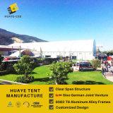 50 шатром полигона в 100 метров - алюминиевой структурой шатра setup в Bogoda