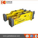 Leistungsfähiger leiser hydraulischer Unterbrecher-Hammer mit dem 140mm Meißel