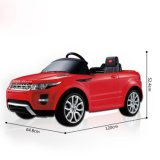 automobile di 81400-Rastar land rover Evoque 12V