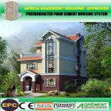 Afrika-/Asien-/Südamerika-helles schnelles Aufrichtung-Fertighaus-Stahlhaus