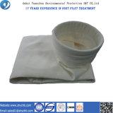 Sachet filtre de composition non-tissée de PPS et de PTFE pour le dépoussiérage