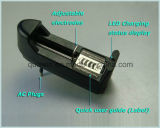 Одно зарядное устройство 4.2V 0,5 А для размера 18650 ячейки