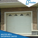 China Style Sectional Garage Door with Window/White Color Steel Door