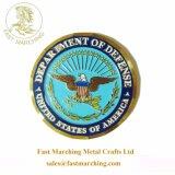 Het HerdenkingsMuntstuk van het Onedele Metaal van de Fabrikanten van de Goede Kwaliteit van de douane