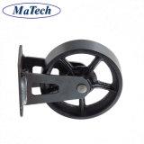 鋳物場からのカスタム灰色の鋳造の鋳鉄の産業足車の車輪