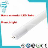 Alto tubo di lumen 1200mm 18W T8 LED dei materiali Nano