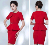 最上質のElegant Slim Fit Ladies Summer Office Business Uniform Suit (2010-D2&B18&13)