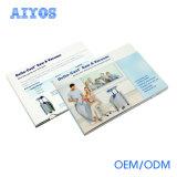 Поздравительная открытка LCD 10.1 дюймов с внутренне памятью