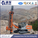 Alésage de l'exploitation minière Hfga-45 Crawler Le trou de forage du roc boring machine pour la vente
