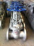 Aço inoxidável Wcb CF8 Válvula gaveta de Flange Industrial