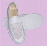 網デザインクリーンルームは帯電防止靴ESDの靴に蹄鉄を打つ