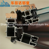 China Manufacotry, welches die Schiene, Spur schiebend, Slding Rahmen-Strangpresßling-Aluminium-Profil schiebt