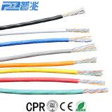 Cavo di lan ottico di Ethernet CAT6 della rete di calcolatore della fibra RJ45
