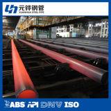 Nahtloses Stahlrohr 133*6 für Kohle-Puder-Transport