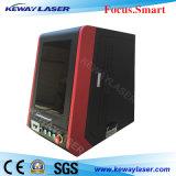 Enclosed машина 20W 30W 50W маркировки лазера волокна металла