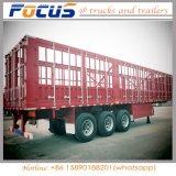 3 Viehbestand binden der Wellen-60ton Dienstladung-LKW-Traktor-halb Schlussteil an