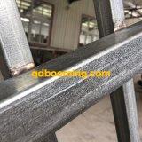 Recinzione d'acciaio rivestita personalizzabile del giardino della polvere nera