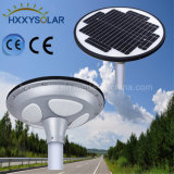 Détection intelligente de 15W ufo la lumière solaire de jardin