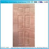 Peau de porte de taille de contre-plaqué de placage d'Okoume pour le panneau de porte