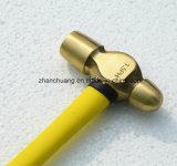 ベリリウムのファイバーのハンドルが付いている銅のハンマーの球Peinの非スパーク