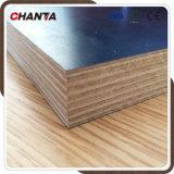 La película del pegamento de la melamina de la base de Chantaplex Combi hizo frente a la madera contrachapada para la construcción