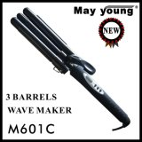 M601c Got Timer Function Professional Triple Barrel Cheveux Curling Iron