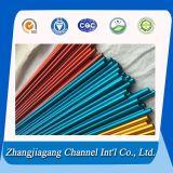 Farbe 6063 T5/T6 anodisiert ringsum Aluminiumgefäß