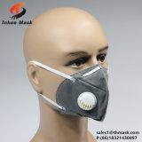 Máscara de polvo plegable no tejida industrial de la válvula de la alta calidad del OEM