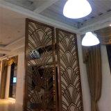 Tela do painel da estaca do laser do CNC do material da decoração do metal para projetos arquitectónicos e interiores luxuosos