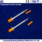 처분할 수 있는 1cc 인슐린 주사통 0.5cc 인슐린 주사통 0.3cc 인슐린 주사통 (ENK-YDS-041)