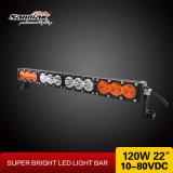 Auto barra clara curvada 120W Offroad do diodo emissor de luz do CREE