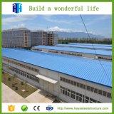 Preiswertes große Überspannungs-Stahlkonstruktion-Zwischenlage-vorfabriziertlager in Rumänien